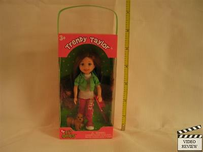Trendy Taylor, Brown Hair, Dog Ty Lil ONES DOLL NEW 4.25 inch lil little one