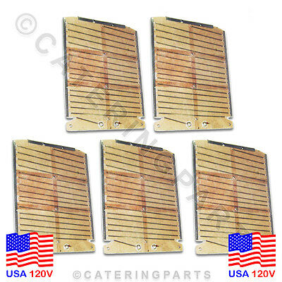 DUALIT FOUR 4 SLOT BREAD TOASTER HEATING ELEMENTS FULL SET FOR USA 110v / 120v