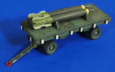 Verlinden Productions 1:32 Scale Bomb Trailer with Snakeeyes Resin Kit NIB #2758