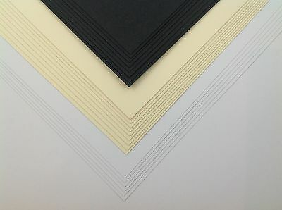 100 Sheets Ivory Craft Card SRA2 A2 180gsm