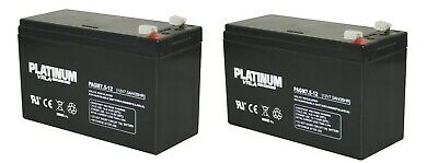 Pair of Batteries for Stannah Stairlifts, including Acorn, Brooks, Minivator etc