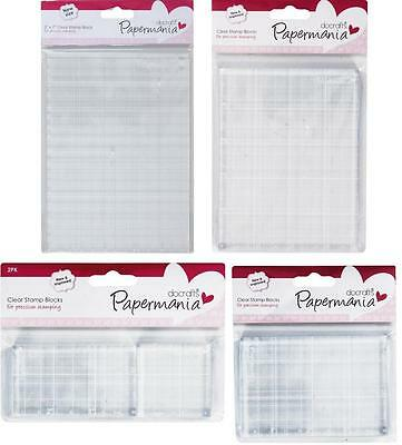 Papermania Clear stamp Block