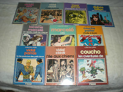 Collection Pilote - Lot De 10 Tomes Dont 9 Editions Originales Cotees