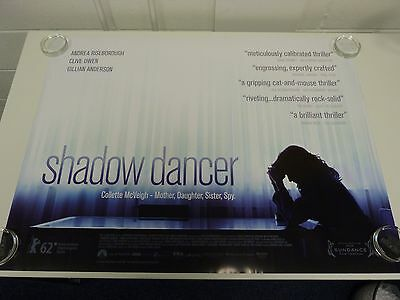 Shadow Dancer - Clive Owen- Thriller Original Film / Movie Poster Quad 76x102cm