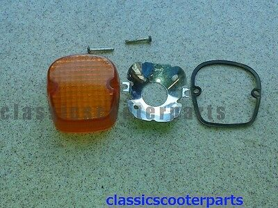 Suzuki 1980 GS550E GS550 signal blinker light lens s80-gs550e-062