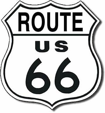 Route 66 Shield Tin Sign - 679 -  Made In USA - Huge Variety In My Ebay Store