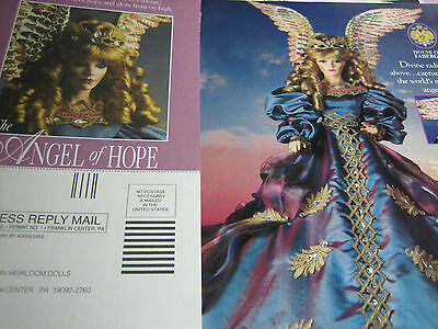 Franklin Heirloom ANGEL OF HOPE Ad Advertisement ONLY / House of Faberge
