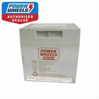 Power Wheels 00801-0638 Rechargeable Battery 12 Volt Fisher Price Free Ship Genu