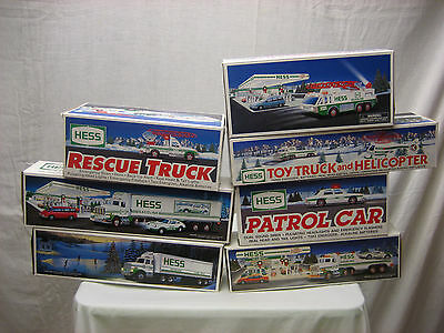 Hess Gasoline Toy Truck Bank X 17 1987 - 1996 1997 - 2006 w Bags LOT NEW NIB NIP