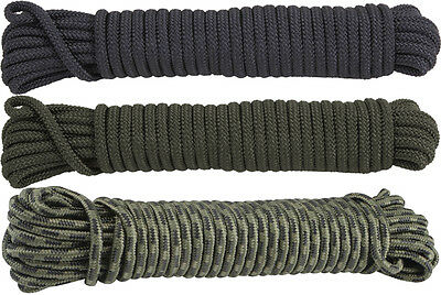Camouflage General Purpose Thick Polypropylene Utility Rope 3/8""