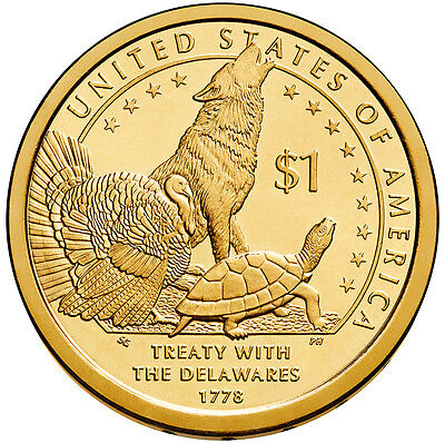 2013-P  Native American Dollar Coin