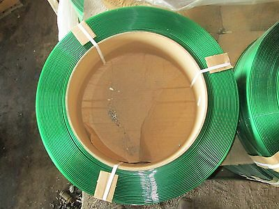 "Samuel Strapping Systems Plastic Strapping Smooth 16X6 5/8"" 4,000 Feet NEW Green"