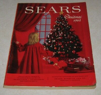 Rare 1962 Sears X-Mas Catalog (No Toy Section) 1st One I Have Seen 319 Pages