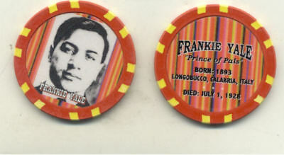 Frankie Yale  Gangster  Collector Chip