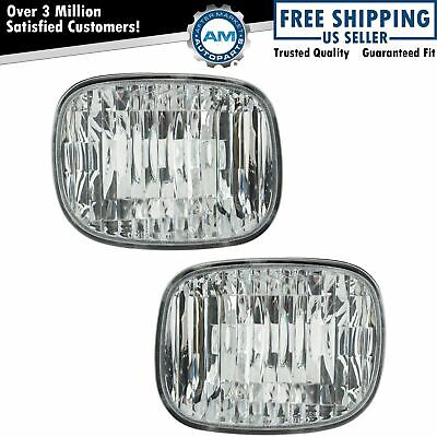 Daytime Parking Turn Signal Light Pair Set for Montana Uplander Relay Terraza