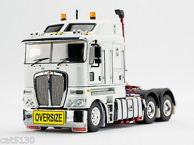 """Kenworth K200 Drake Truck Tractor - """"WHITE & RED"""" - 1/50 - TWH #129A-01345"""