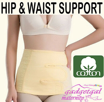 5 SIZES Postpartum Postnatal Pelvic Abdominal & Back Support Belt Belly Band 301