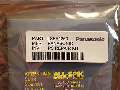 PANASONIC Plasma Power Supply Repair Kit LSEP1260 TH-42PH11UK TH-42PX80U