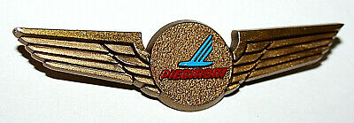 Vintage Plastic 1960s 1970s Piedmont Airlines Toy Pilots Wings Pin New NOS