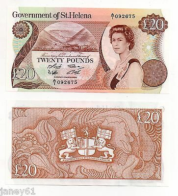 ~ ST. HELENA  £20 Banknote  P10 ~