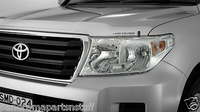 Toyota Landcruiser Head Light Covers LC200 Current GX GXL GENUINE NEW