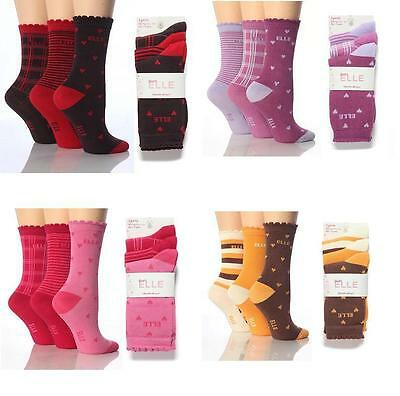 6 Pair Pack YE02 Girls Young Elle Ankle Socks, Various Colours, All Sizes