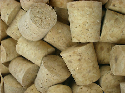 2 x Tapered Cork Bung Stopper Bottle size 18