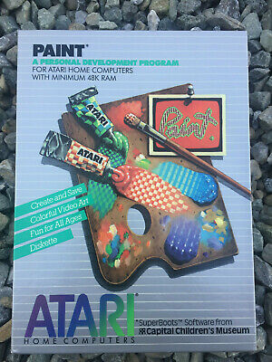 Paint By The Capital Children's Museum Disk 800/XL/XE Atari DX5048