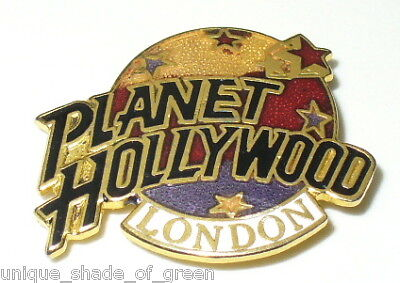 PLANET HOLLYWOOD LAPEL  PIN~LONDON