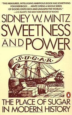 Sweetness and Power: Place of Sugar in Modern History-Sidney Wilfred Mintz