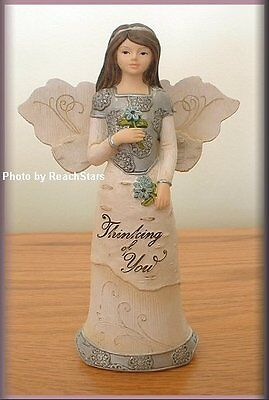 PAVILION ELEMENTS THINKING OF YOU ANGEL FIGURINE 5.5 INCHES FREE SHIPPING