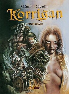 Korrigan - L'integrale  di Civiello e Mosdi  ed.Magic Press SCONTO 50%