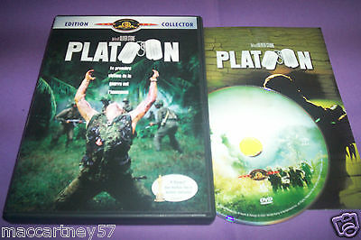 Dvd Platoon Film Guerre Vietnam Edition Collector