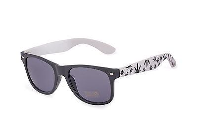 New Vintage Retro Sunglasses (Unisex Mens Ladies) Ganja Weed 420 UV400 Lense
