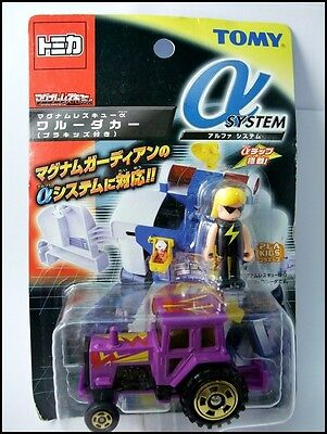 Tomy Japan Tomica MR Alpha System With Minifigure card pack rare