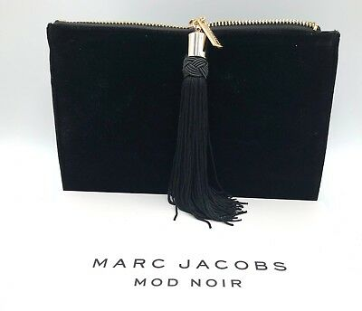 New in Box! Marc Jacobs Perfume Purse Makeup Bag Pouch Clutch with Tassel
