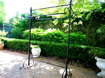 Iron Clothes / Blanket / Quilt Rack 3 Rails Display Stand Home Fashion Shop 003