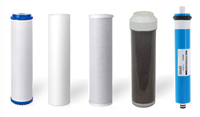 5 stage Replacement filters Membrane for Aquarium Reverse Osmosis Water System