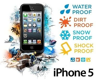 Custodia Cover Waterproof Rigida Impermeabile Subacquea Anti Shock per iPhone 5