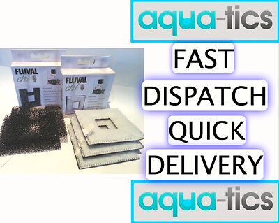 Fluval Chi Single or Combo Packs 3 Filter Pads and or 2 Foam Pads Duo Multi BNIB