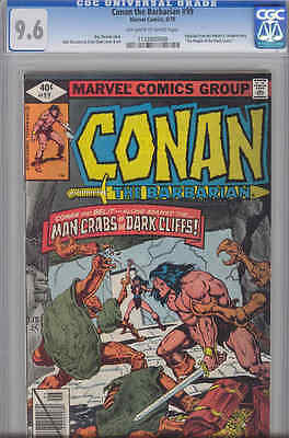 Conan the Barbarian #99 CGC 9.6 oww Last issue before the Death of Belit : 1979