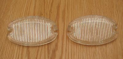 1957 CHEVY BACK UP LIGHT GLASS  LAMP LENS  new ** USA MADE **