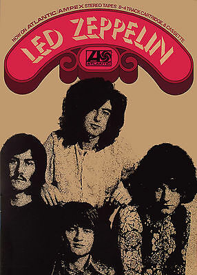 Zeppelin - First Album - Promotional Poster