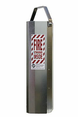 Fire Extinguisher Canister ~ 20 lb. Fire extinguisher protective case ~ Bracket