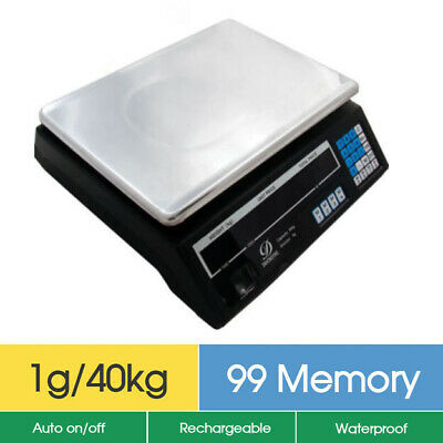 Brand New 40kg/5g Digital Price Computing Scale Account Function Memory Recall