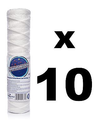 "10 x 5 micron sediment filter string-wound 10"",water filter,Reverse osmosis,RO."