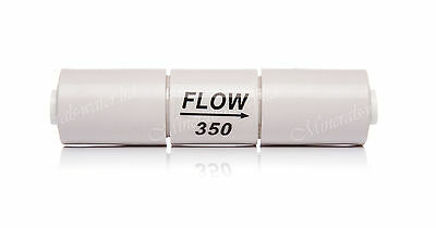 """Inline Flow Restrictor 350 - 1/4"""" Pushfit for Reverse Osmosis System Membrane"""