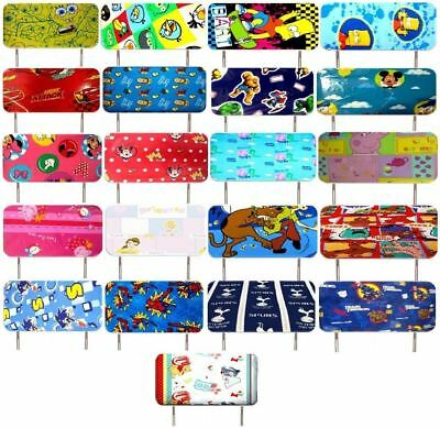 Disney Character Childrens Single Bed Headboard Set Matches Duvet Set Curtains