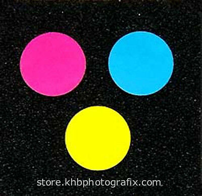 """Replacement 3/4"""" (19mm) Color Discs for Omega and Beseler Colorhead Knobs"""