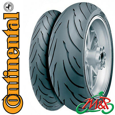 YZF 750 SP Continental Conti Motion Front Rear Tyre Pair